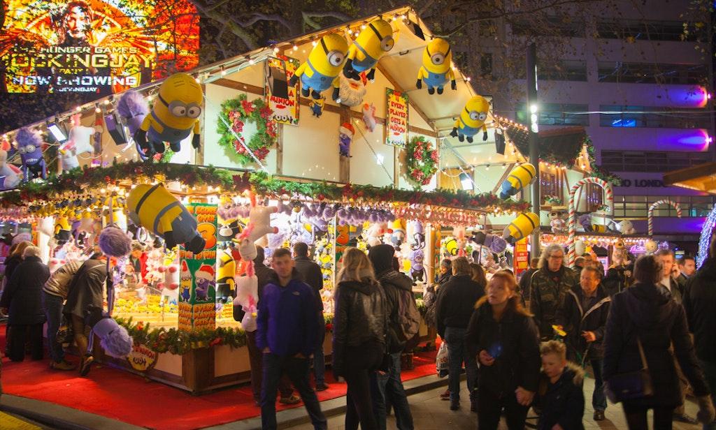 Christmas market,london