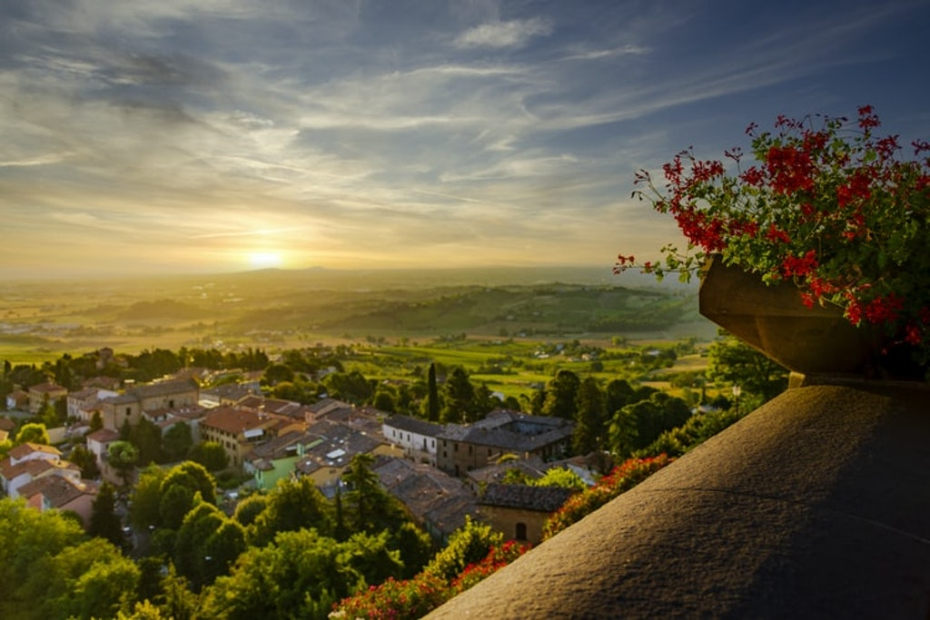 Italy countryside