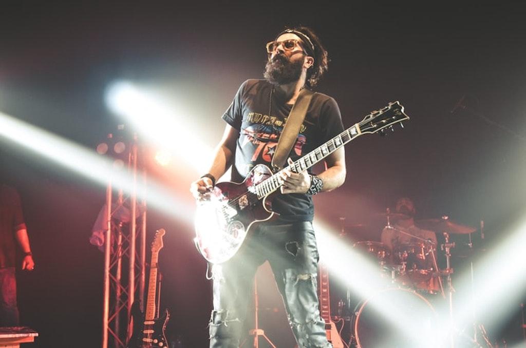 Guitarist in Spain