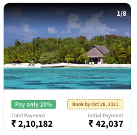 Coco Bodu Hithi, Maldives - 2 Nights Island Villa + 2 Nights Water Villa - All Inclusive