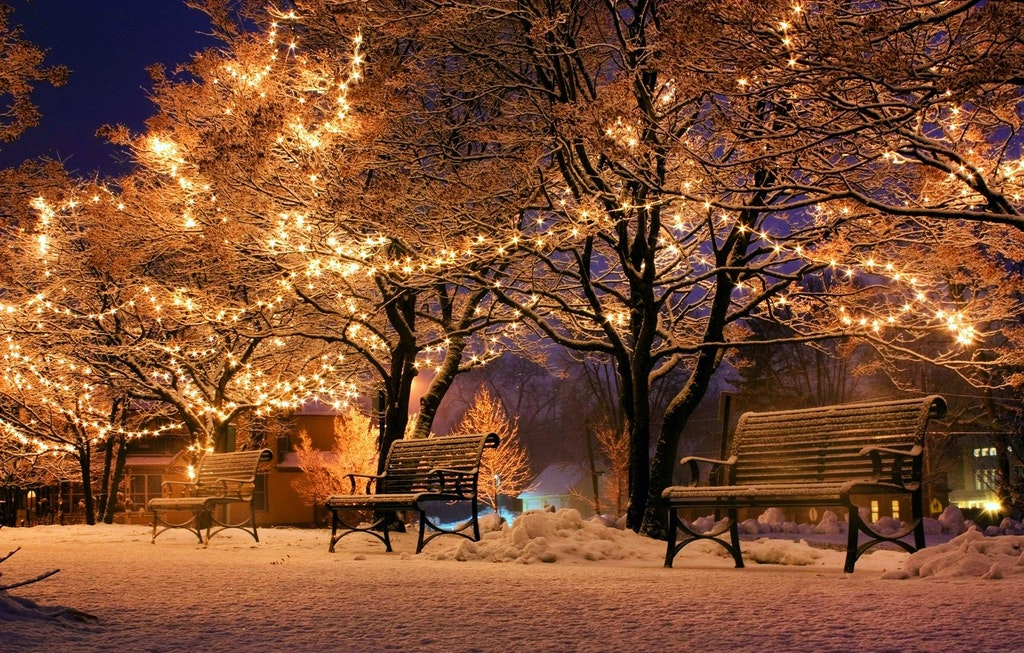 Christmas Lights, Paris, France, Things to do in Paris in Winter