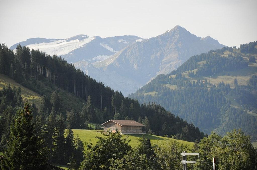 Gstaad, Switzerland, Flims Shot in Switzerland