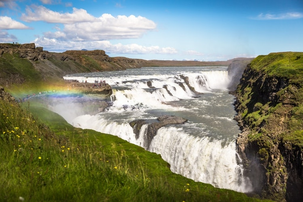 Explore the enchanting waterfalls in Iceland