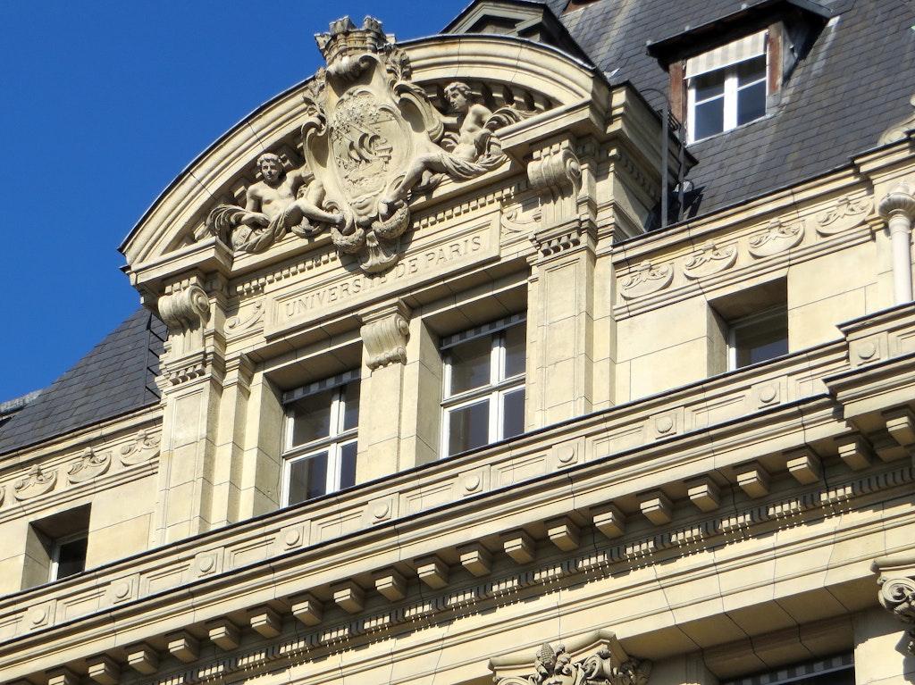Sorbonne university, Latin Quarter, Paris - Beauty of Medieval