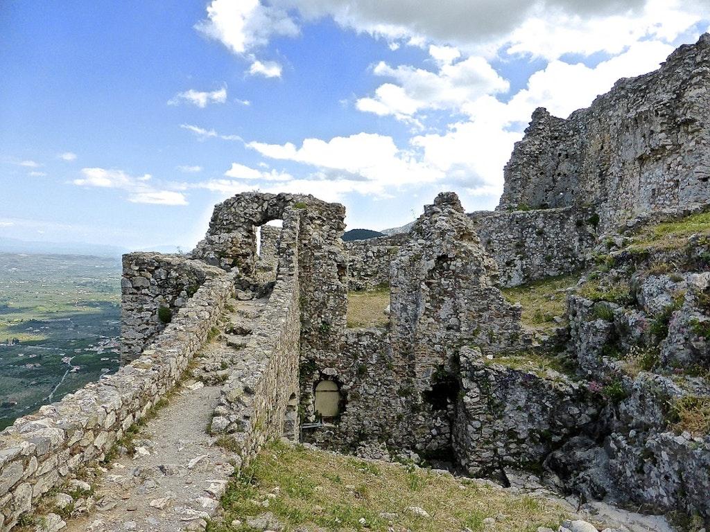 Mystras castle in Greece, Best Castles in Greece