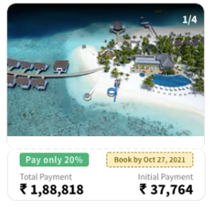4 Nights Stay At OBLU SELECT At Sangeli, Maldives - All Inclusive