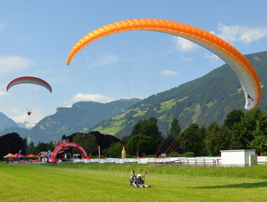 Best places for paragliding in Austria, Zillertal Valley