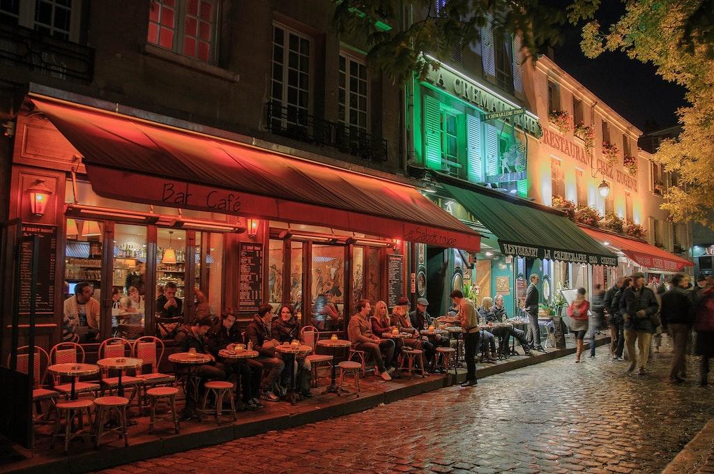 Restaurants In Paris Night