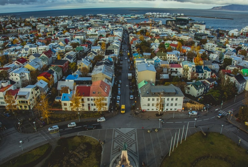 Reykjavik by day, Places to visit in Europe in July