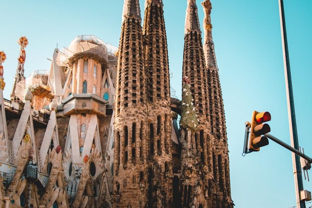 La Sagrada Familia, Barcelona, Spain, Places to visit in Europe in July