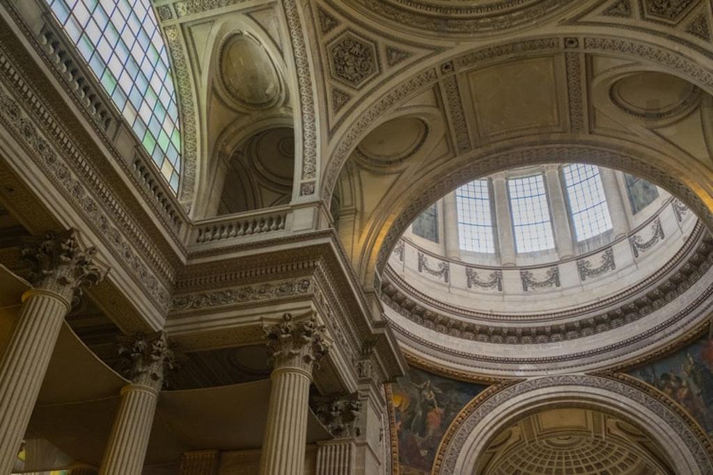 Panthéon in Paris, Inside of Panthéon in Paris