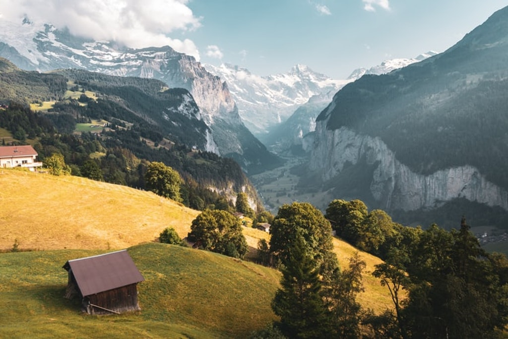 Jungfraujoch ,tourist attractions, Flims Shot in Switzerland