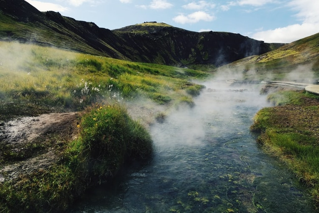 Reykjadalur, Places to Visit in Iceland in July