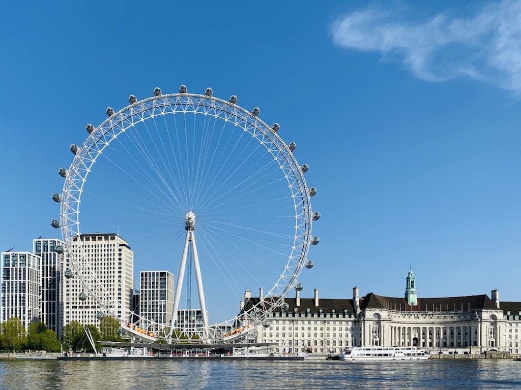 London Eye, London in March