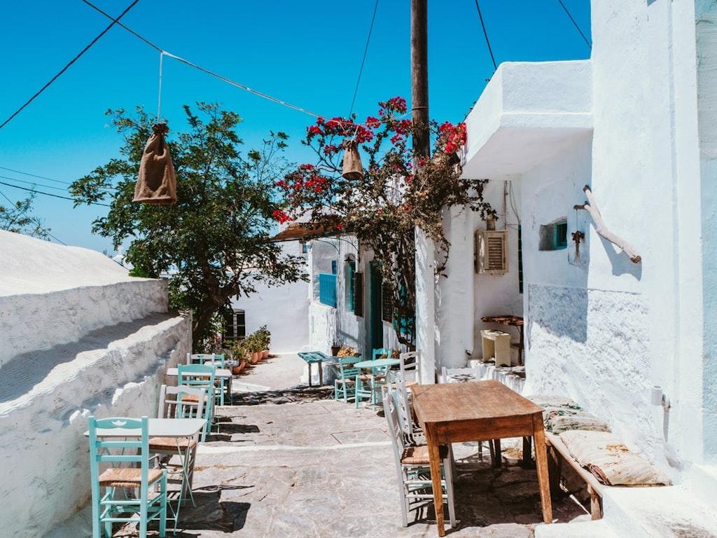 Irini Cafe in Santorini