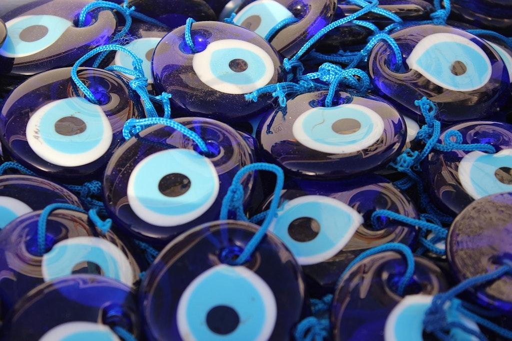 Mati evil eye, souvenirs para traer de Grecia