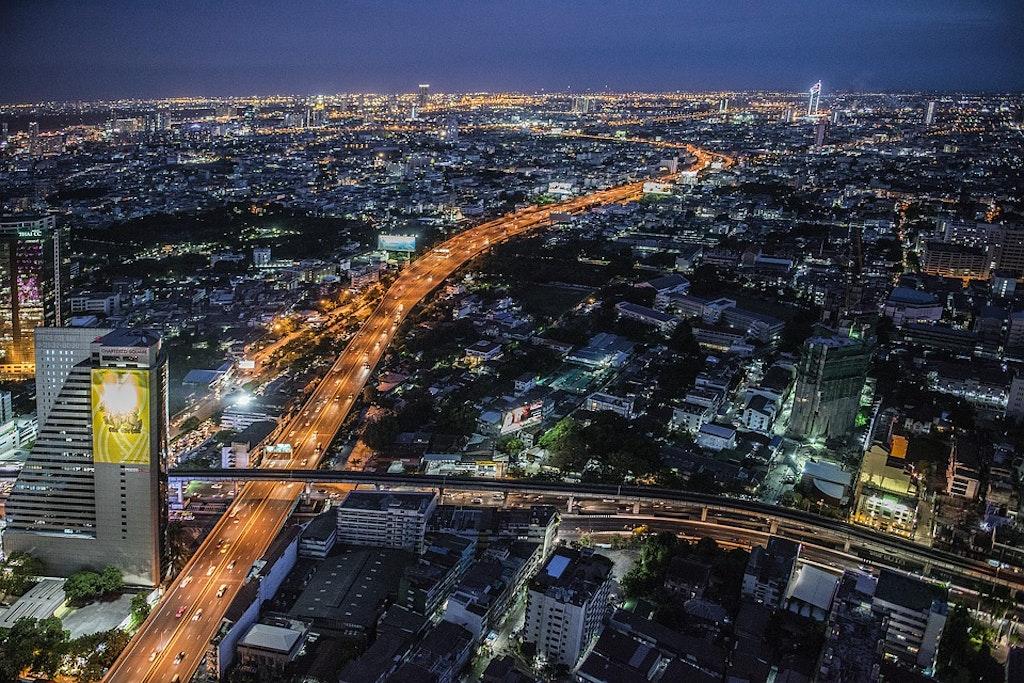 Rooftop restaurants in Bangkok