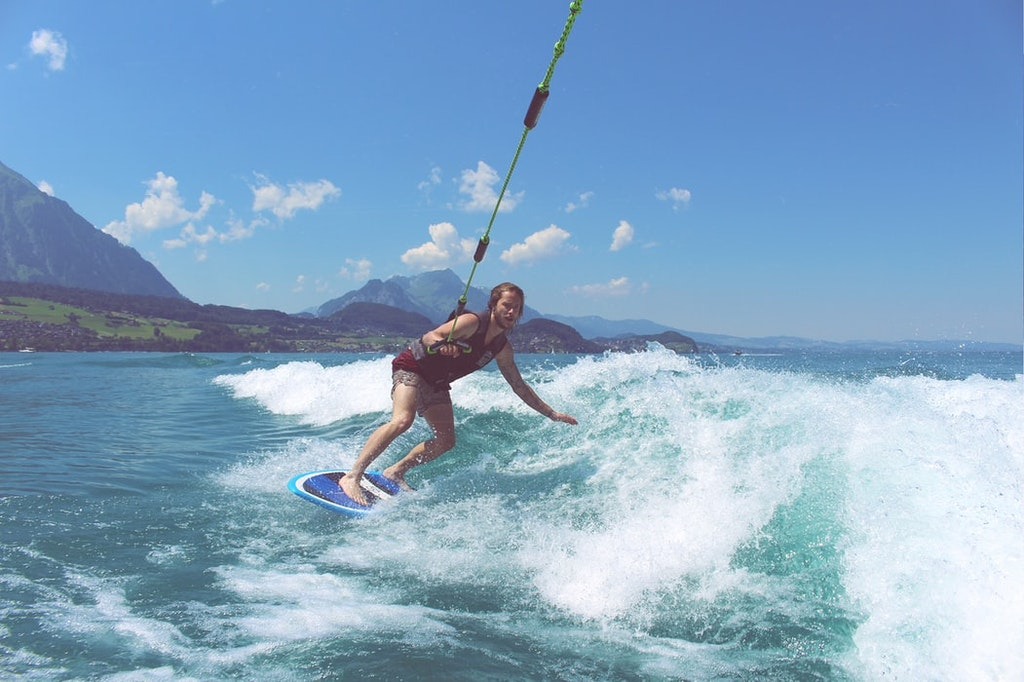 Man Surfing , water activities, 15 Best Beaches in Mykonos