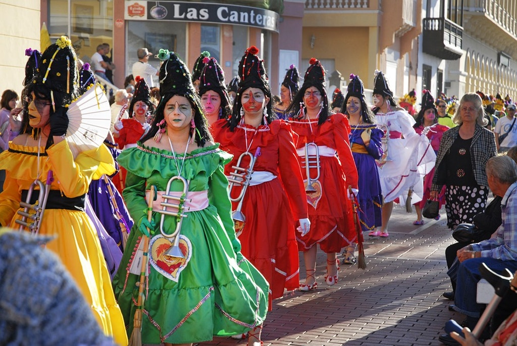 Carnival de santa cruz tenerife, spain, Best Winter Festivals in Europe