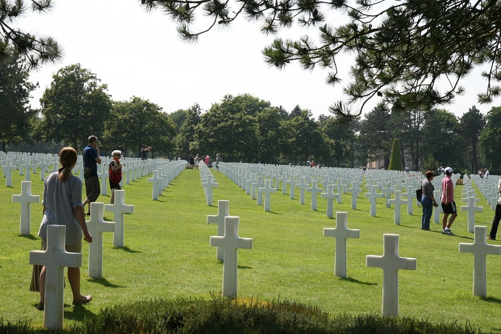 Normandy American Cemetery, Most Interesting Historical Places to Visit in Europe