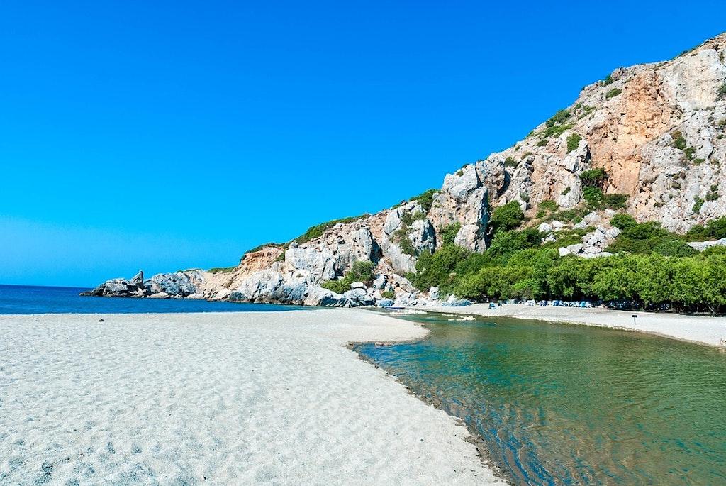 Preveli beach, Best Beaches in Crete