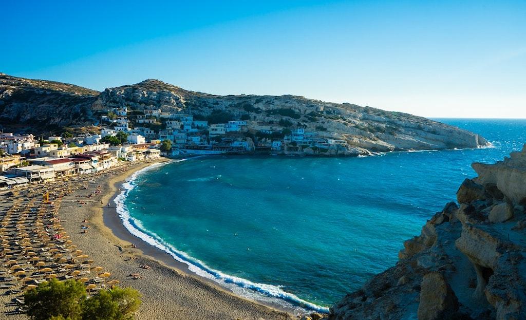 Matala Beach, Best Beaches in Crete