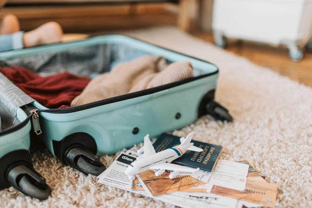 suitcase, UK visa for Indians