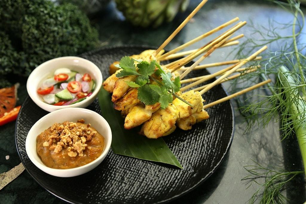 Pollo tailandés