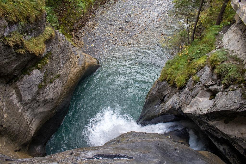 Have fun at the Trummelbach Falls