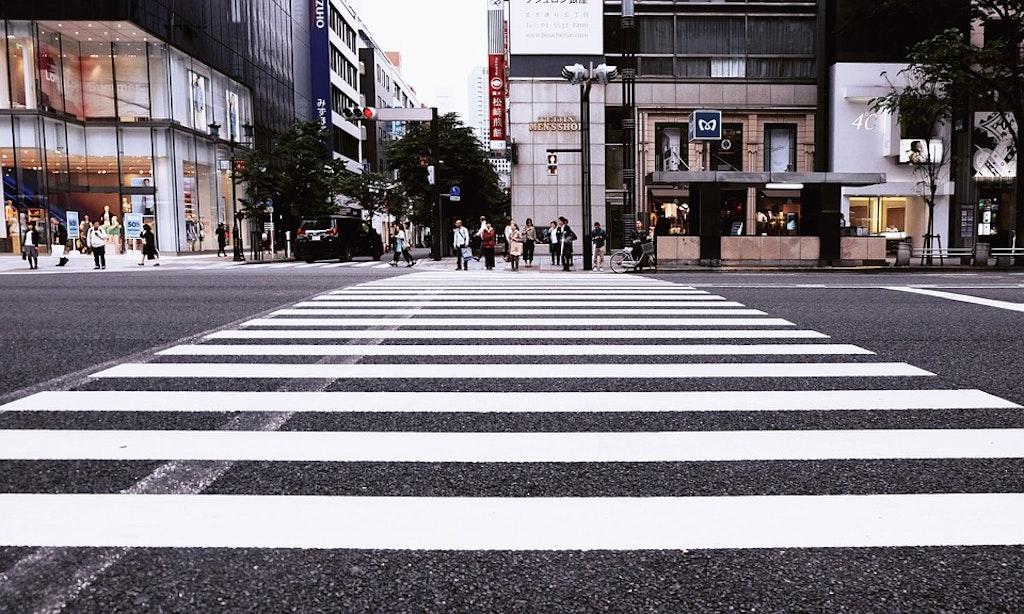 zebra crossing, jaywalking