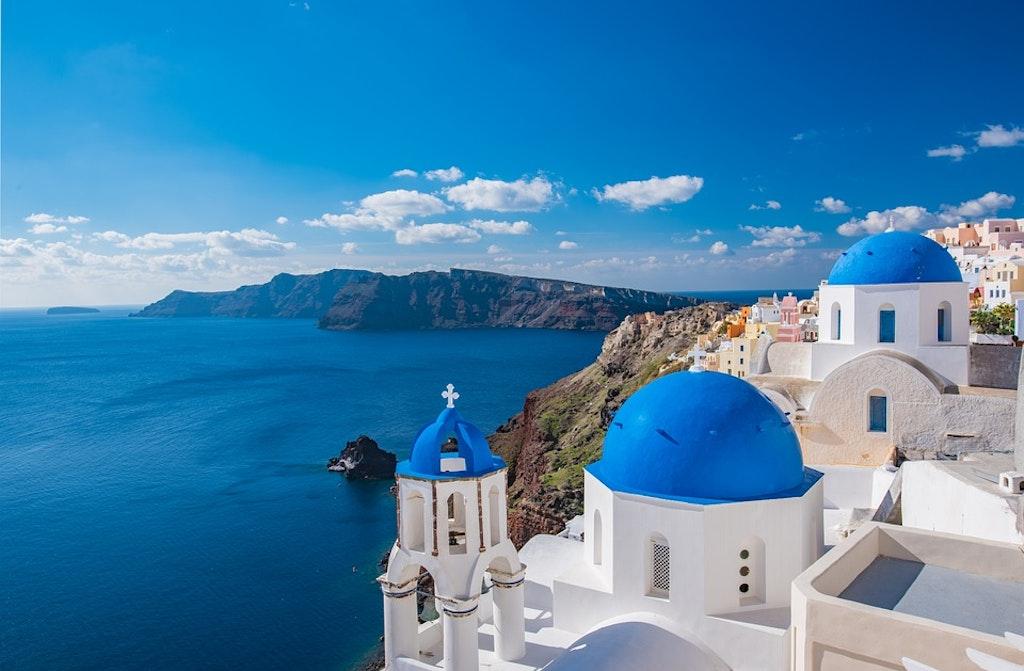 Cyclades islands in Greece