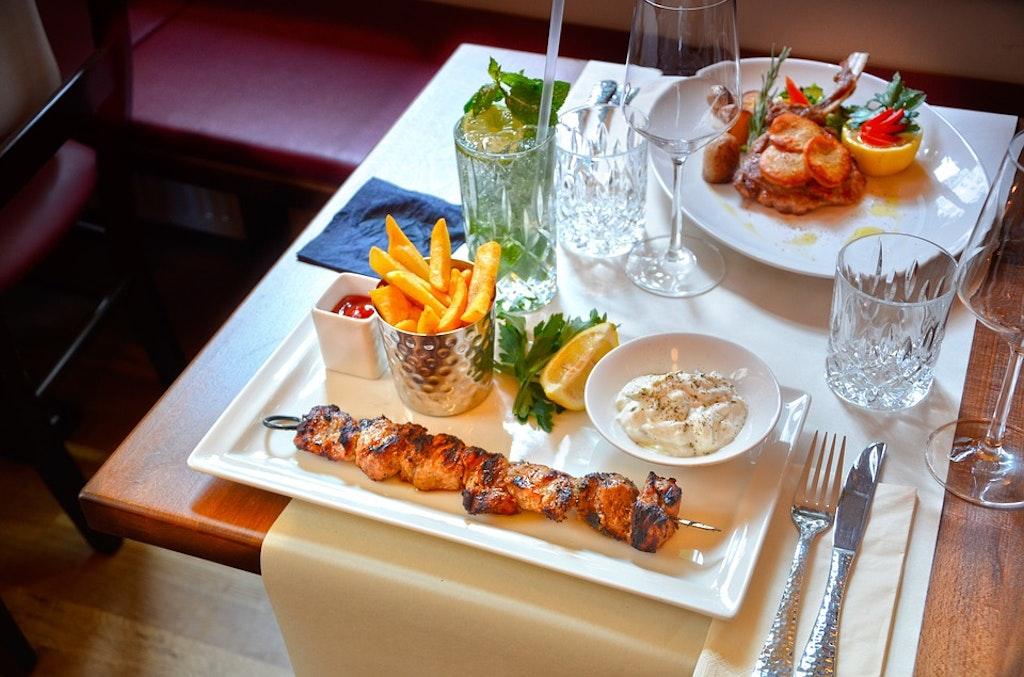 greek food, restaurants in Rhodes