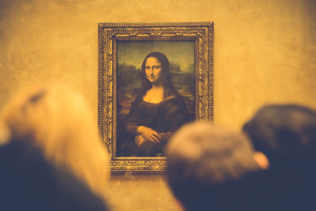 Monalisa, Louvre Museum