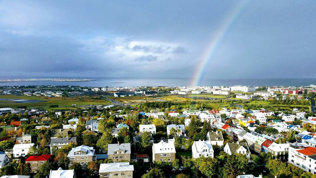 View from Tower Suites Reykjavik, Best resorts in Iceland