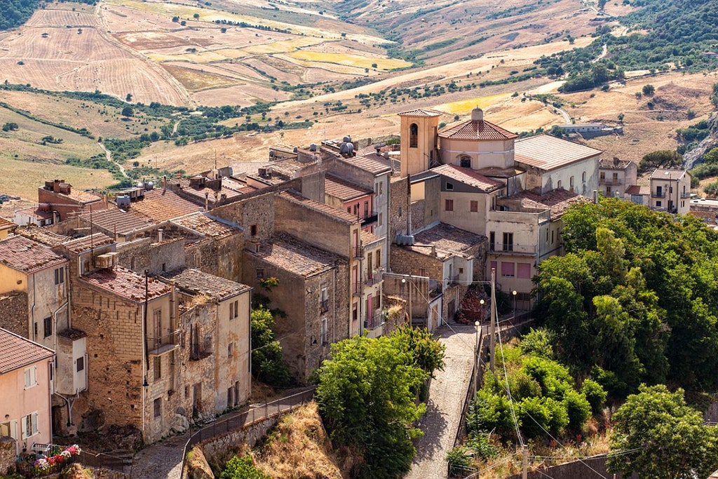 italy-sicily-village-buildings-Best Winter Destinations in Europe