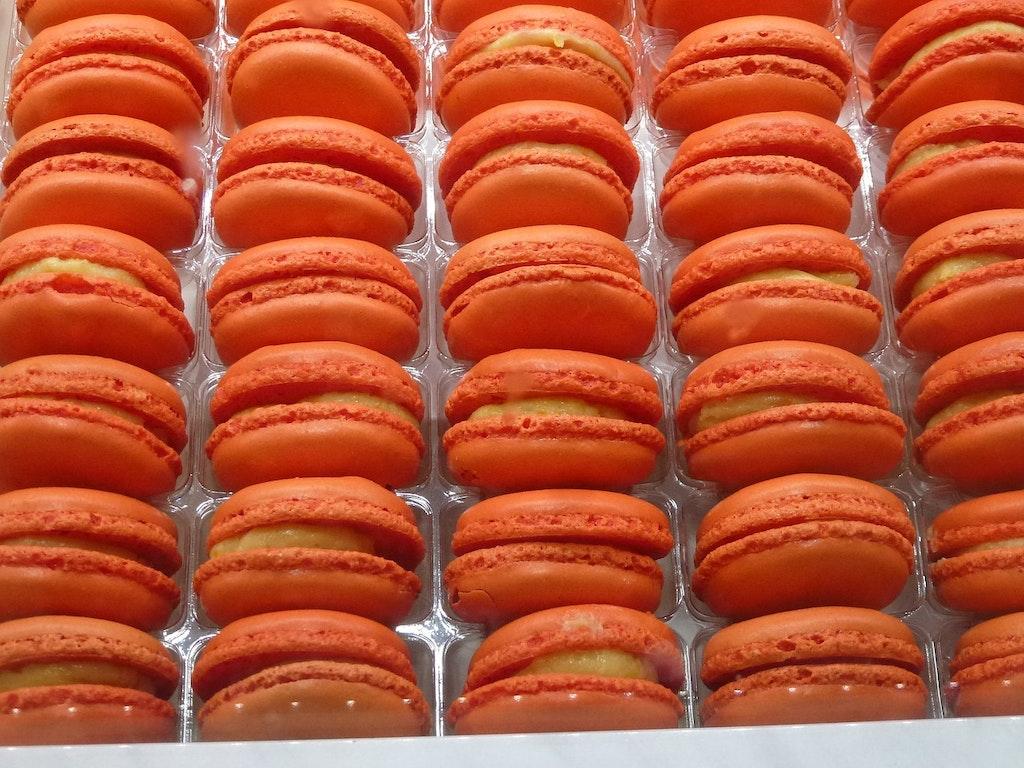 Macarrón Paris Naranja