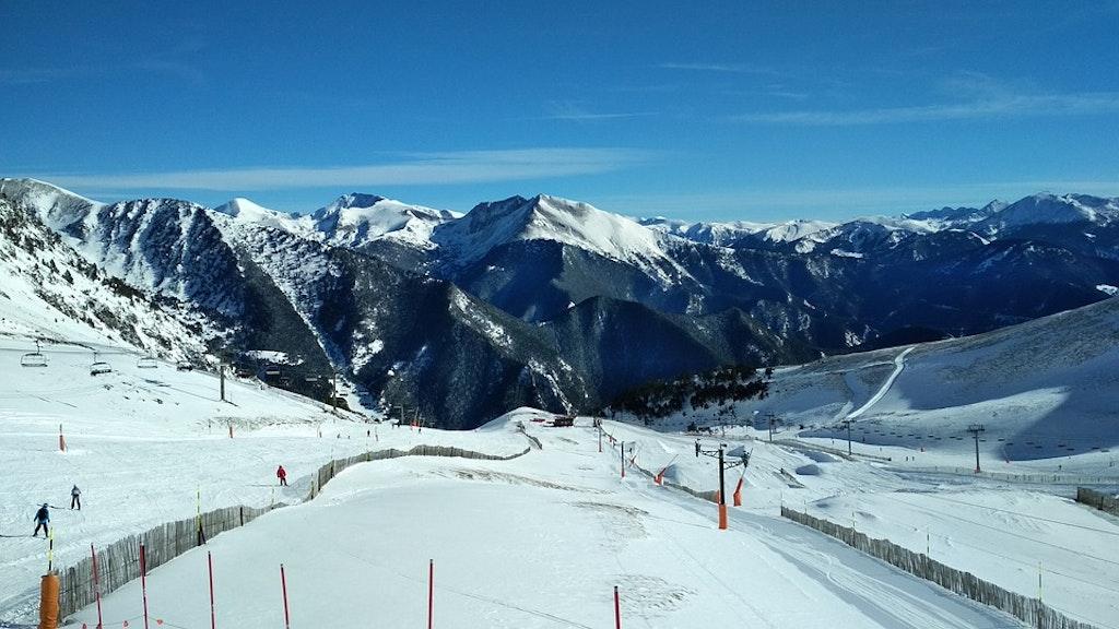 mountains-snow-andorra-arinsal-Best Winter Destinations in Europe