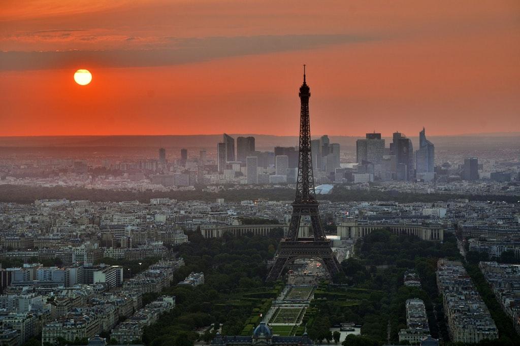 Torre Eiffel Francia París en septiembre
