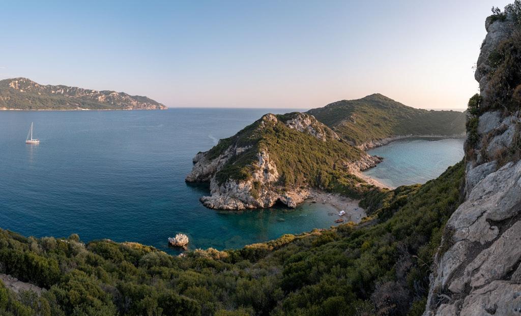 Agios Georgios, Beaches in Naxos, Greece