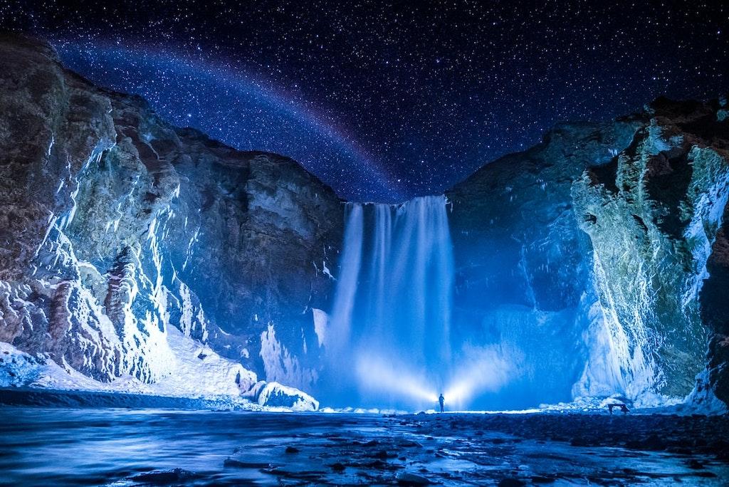 Skógafoss Waterfall, Most Instagrammable Spots in Iceland