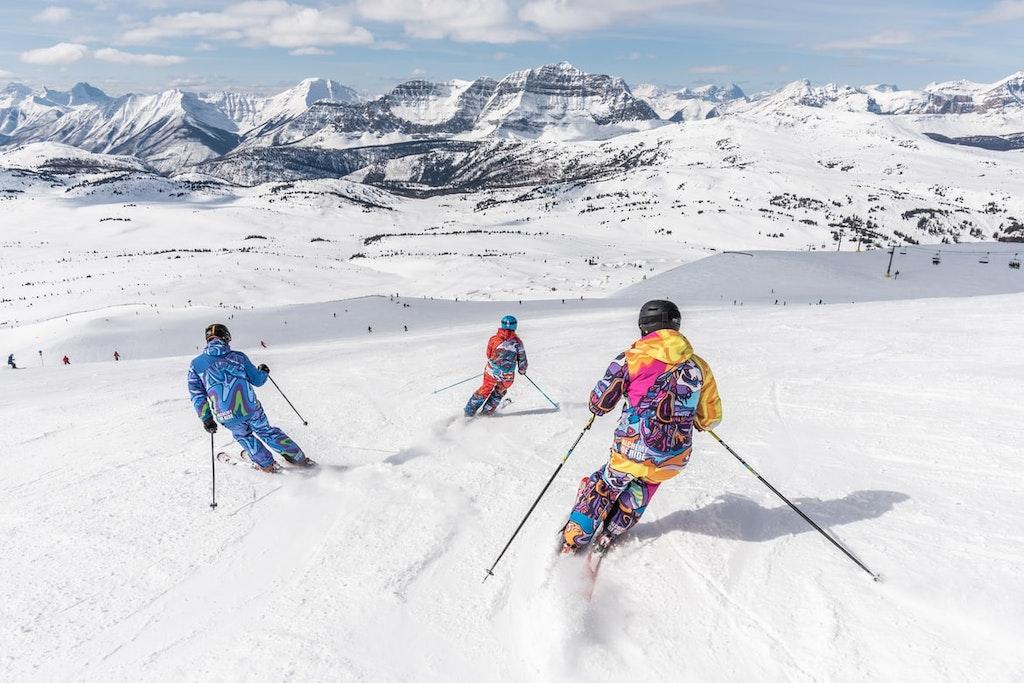 Skiing in Greece