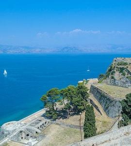 Restaurants in Corfu, Greece