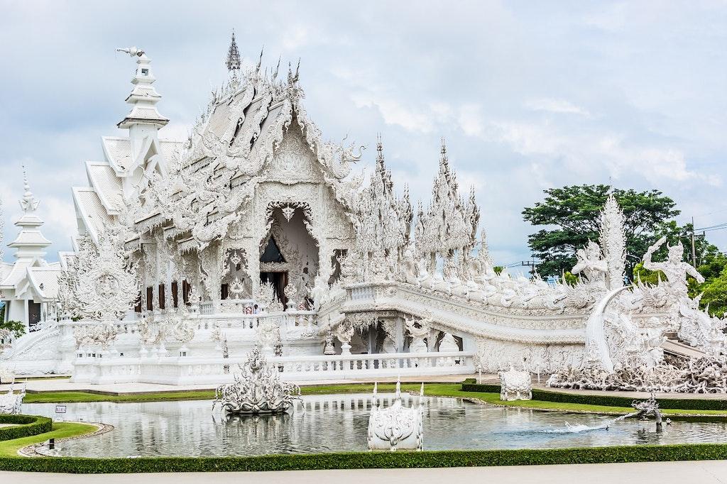 Lugares para Instagram de White-Temple-Chiang-rai en Tailandia