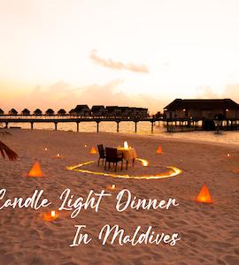Best Candle Light Dinner Resort Restaurants In Maldives