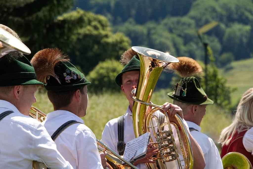Banda de música bávara