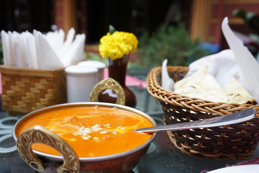 Indian Food in Germany