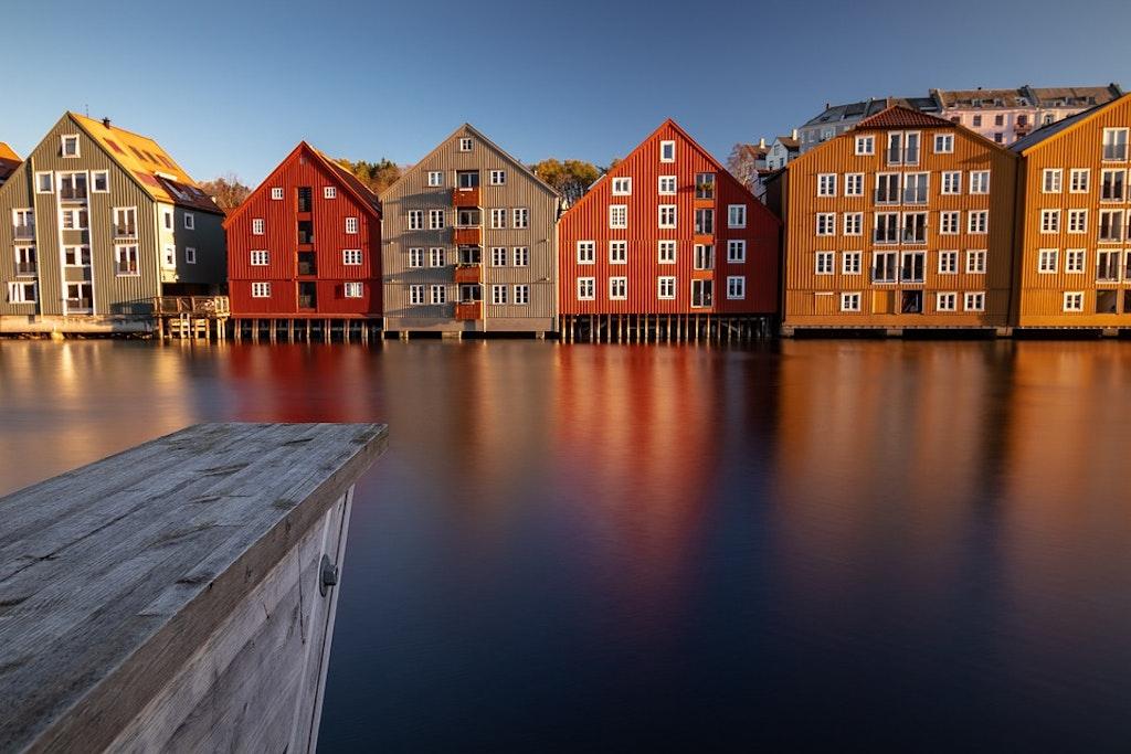 Fiordo de noruega