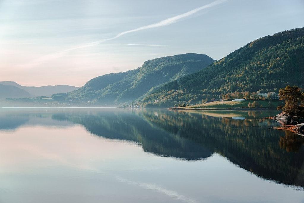 Montañas en Noruega