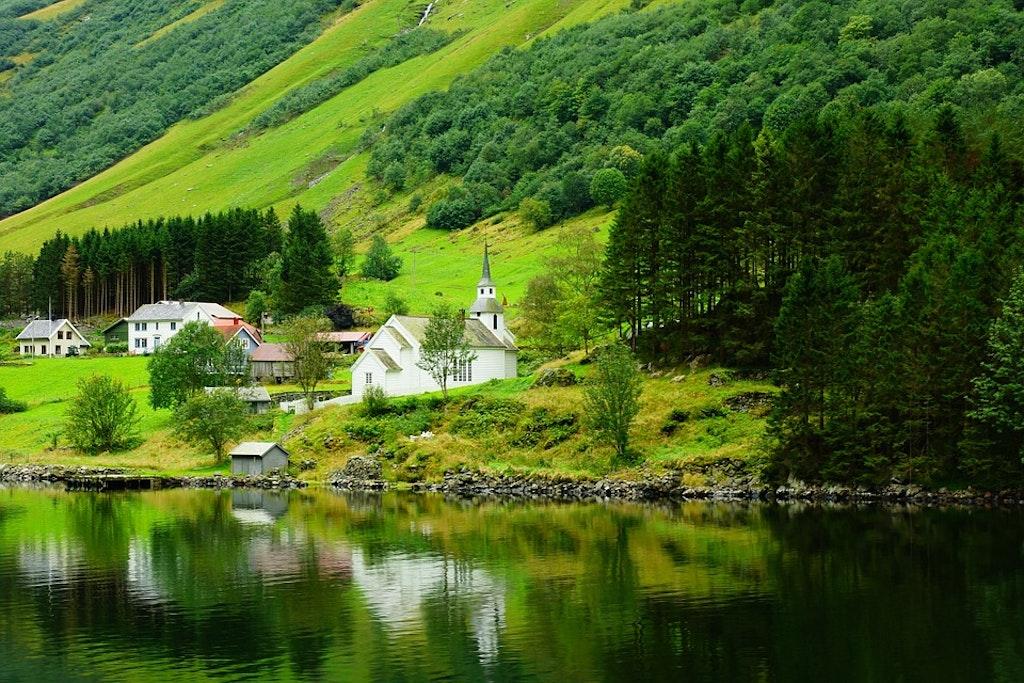 Noruega ambiente tranquilo